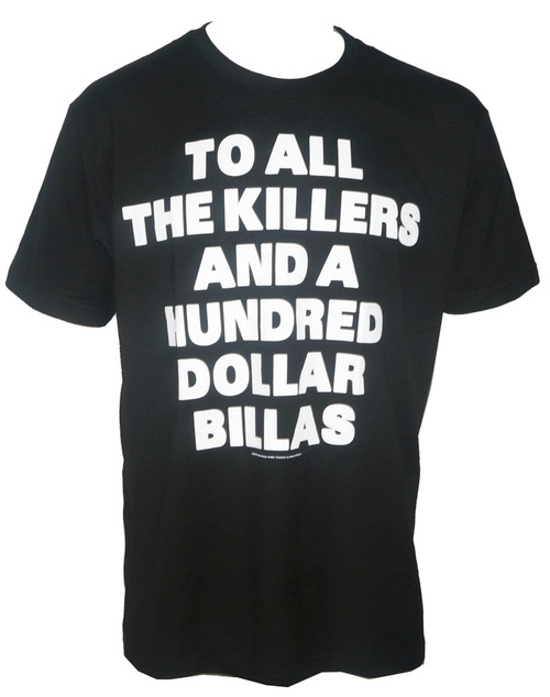 Mobb Deep Killers on Black T-Shirt