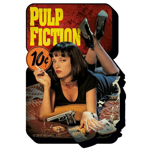 """PULP FICTION One Sheet Funky Chunky 4"""" x 3"""" Magnet"""