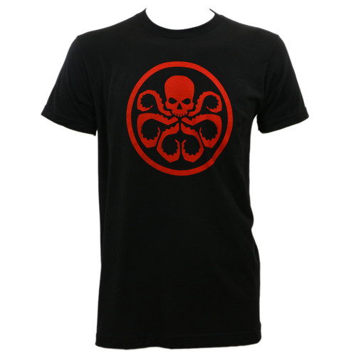 Marvel Hydra Logo Slim-Fit T-Shirt