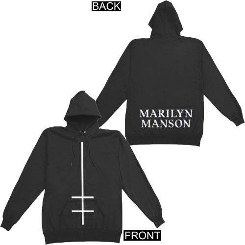Marilyn Manson Double Cross Pullover Hoodie