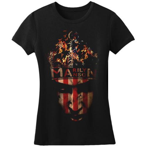 Marliyn Manson Junior's Crown T-Shirt