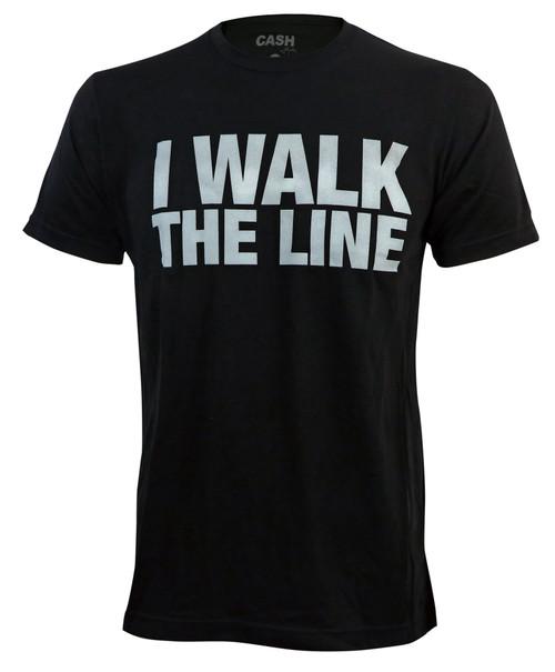 Johnny Cash I Walk The Line Slim Fit T-Shirt