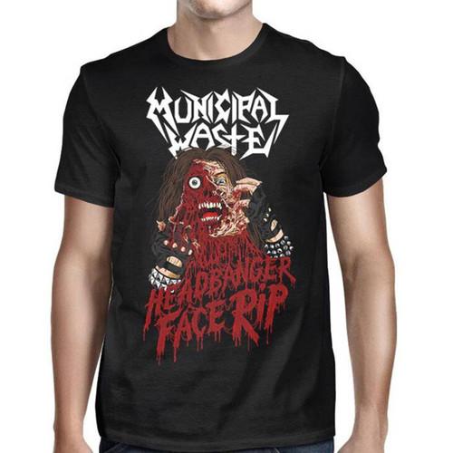 Municipal Waste Headbanger T-Shirt Black