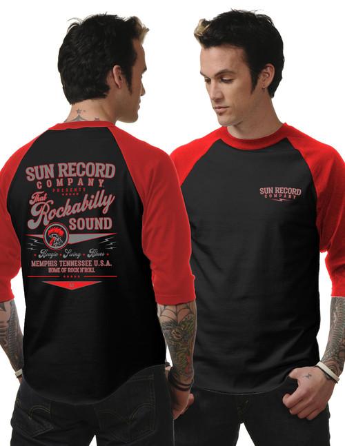 STEADY CLOTHING That Rockabilly Sound Raglan T-Shirt