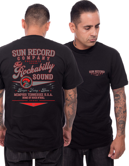Steady Clothing Sun Records That Rockabilly Sound T-Shirt