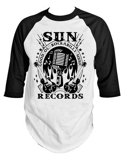 STEADY CLOTHING Rockabilly Music Raglan T-Shirt