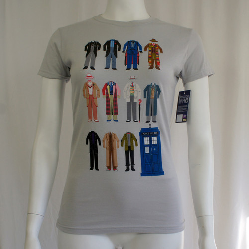 Doctor Who Juniors Doctor Outfits T-Shirt