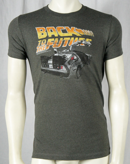 Back To The Future T-Shirt - Delorean Logo