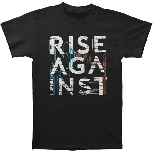 Rise Against Stacked Wolves Slim-Fit T-Shirt