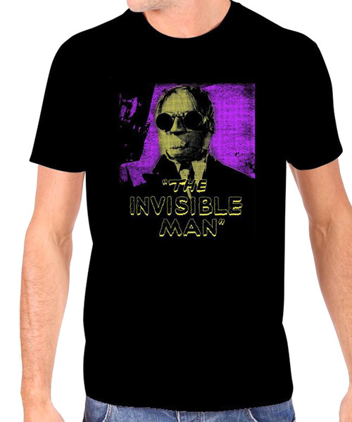 Universal The Invisible Man Glow in The Dark T-Shirt