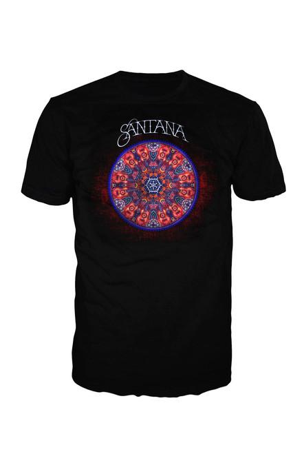 Santana Full Color Mandala T-Shirt