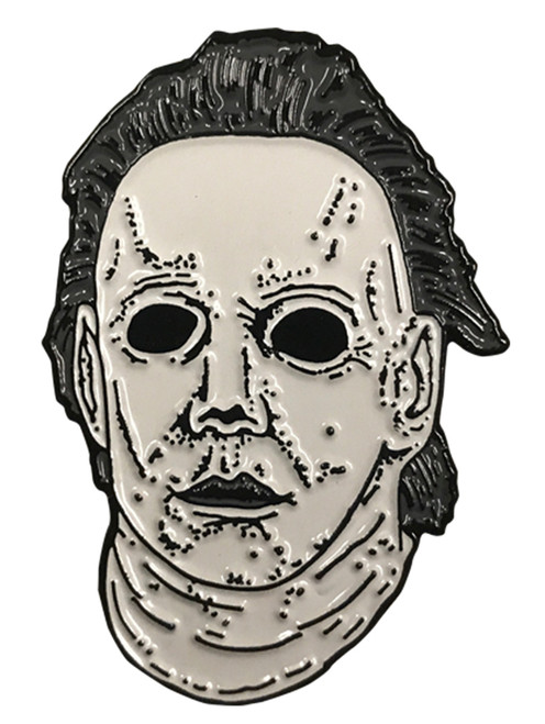 Halloween 6 The Curse of Michael Myers Mask Enamel Pin