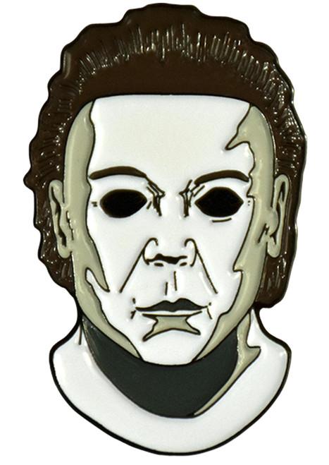 Halloween 8 Resurrection Michael Myers Mask Enamel Pin