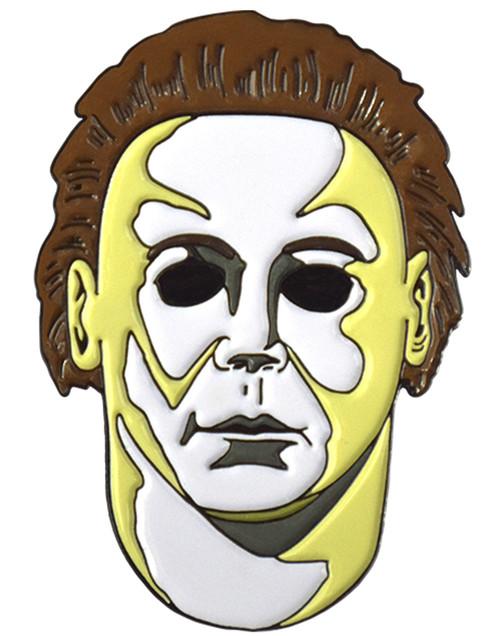 Halloween H20 Michael Myers Mask Enamel Pin