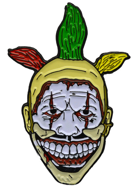 American Horror Story Twisty The Clown Enamel Pin