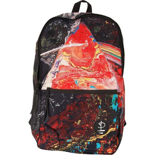 Pink Floyd Prism Watercolor Sublimated Laptop Backpack