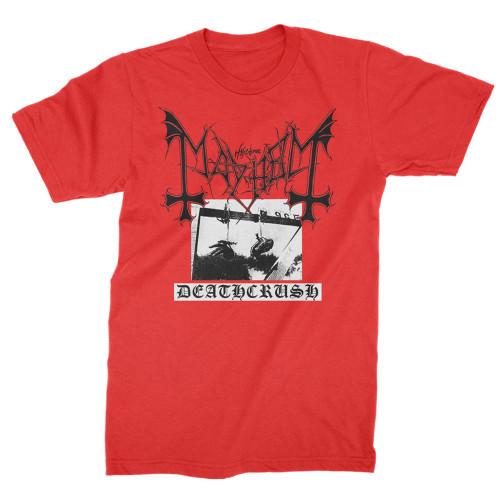 Mayhem Deathcrush T-Shirt Red