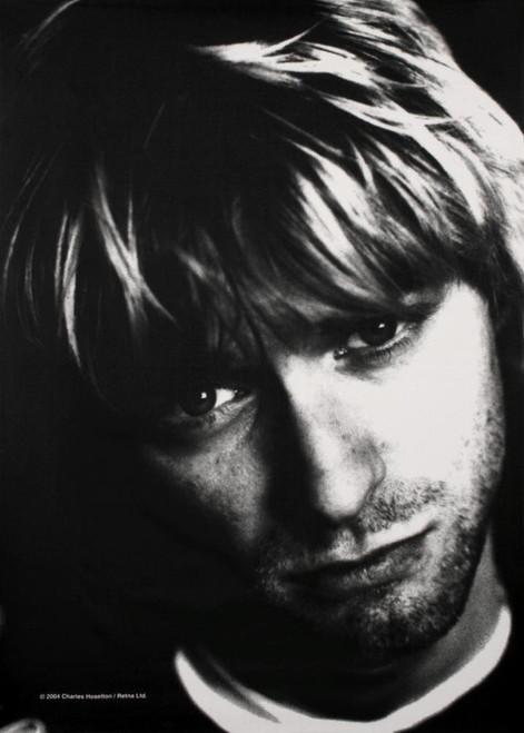 """Kurt Cobain Face Fabric Poster 30"""" x 40"""""""