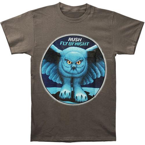 Rush Fly By Night Slim Fit T-Shirt Grey