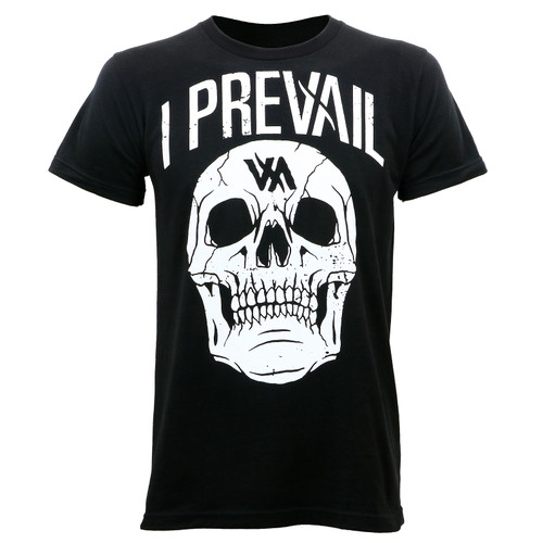 I Prevail Large Rowdy Skull T-Shirt
