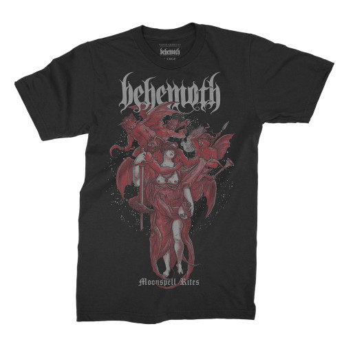 Behemoth Moonspell Rites T-Shirt