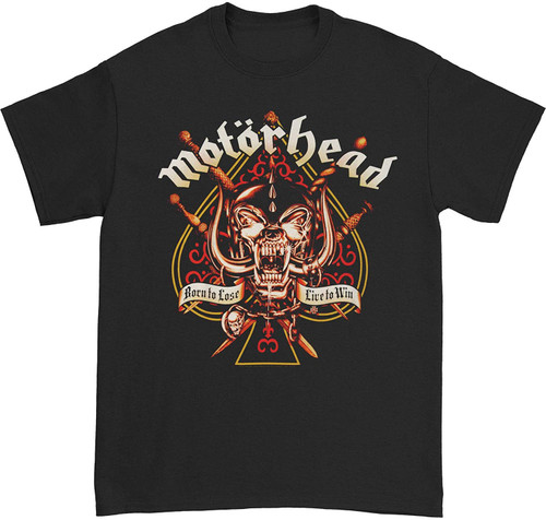 Motorhead Sword Spade Clean T-Shirt Black