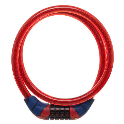 DC Comics Superman Suit Braided Steel Bike Cable Lock
