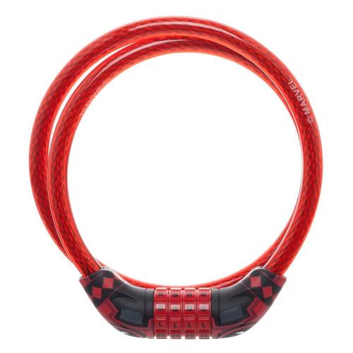 MARVEL Deadpool Suit Braided Steel Bike Cable Lock