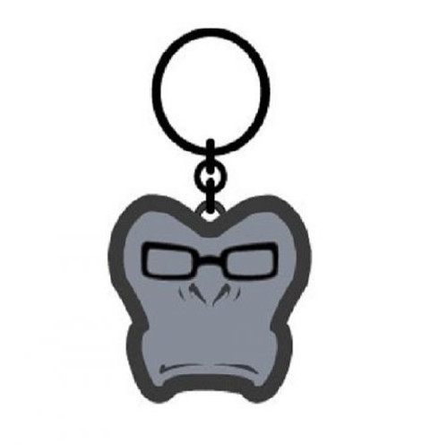 Overwatch Winston Face Video Game Charm Keychain