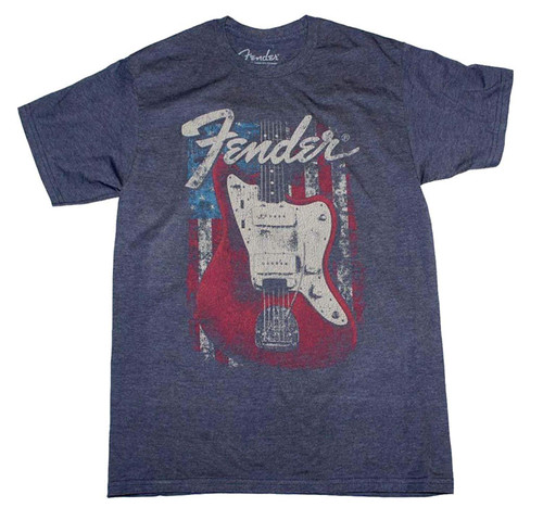 Fender Flag Guitar Slim Fit T-Shirt