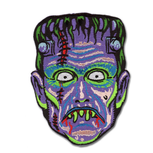 Retro A Go Go Son of Frankie Embroidered Patch