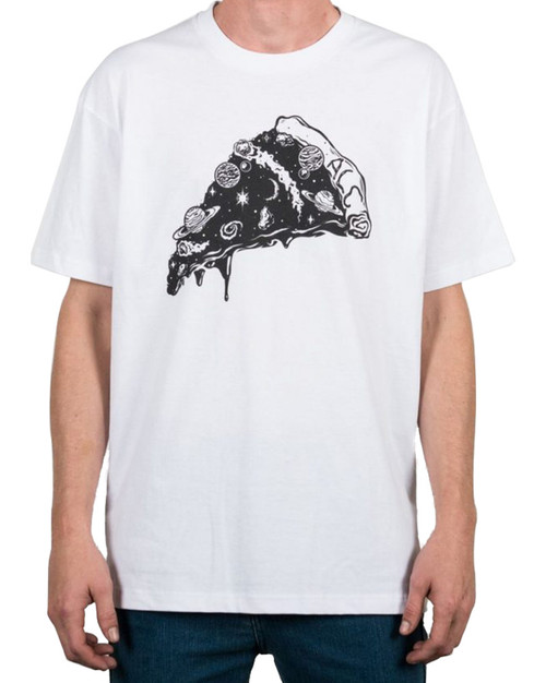ALC Apparel Pizzaverse Slim-Fit T-Shirt White