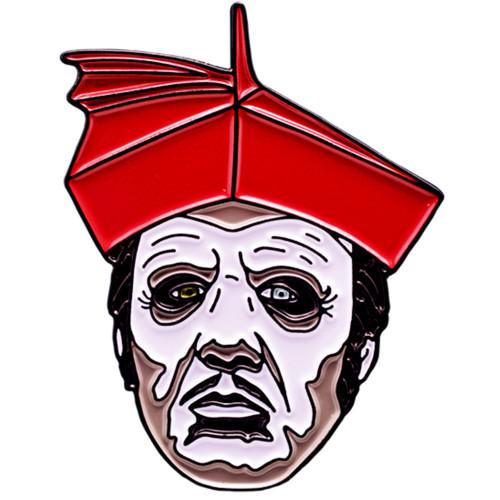 Ghost Cardinal Copia Enamel Pin