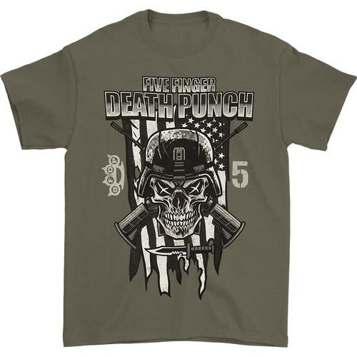 Five Finger Death Punch Infantry Special Forces T-Shirt