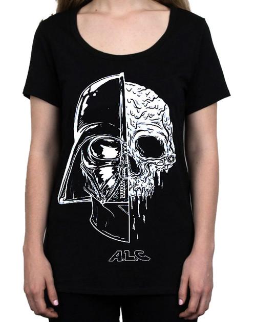 ALC Apparel Women's Invader Scoop Neck T-Shirt