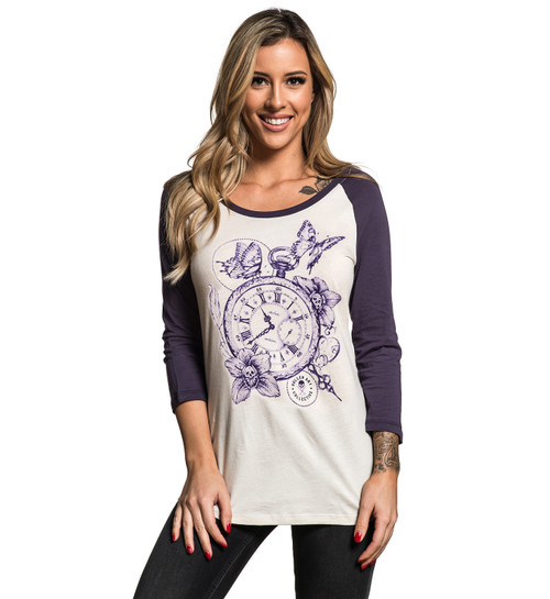 Sullen Women's Time Will Tell Raglan Shirt