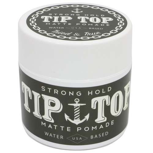 Tip Top Matte Strong Hold Pomade 4.25oz