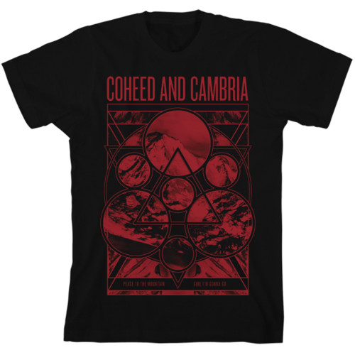 Coheed and Cambria Mountain Peace Slim-Fit T-Shirt