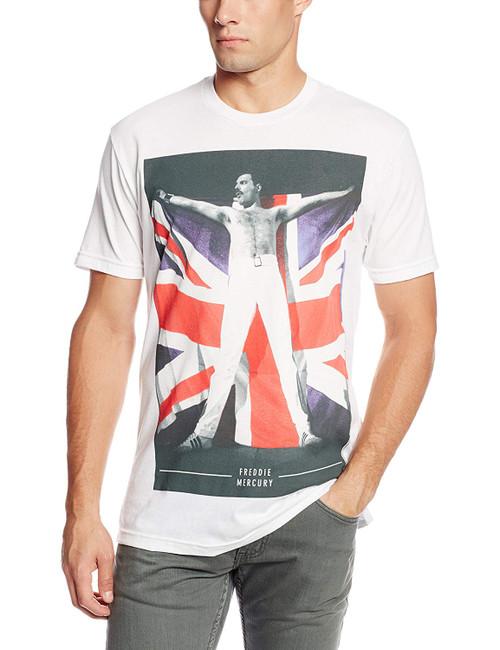 Queen Freddie Flag Slim-Fit T-Shirt