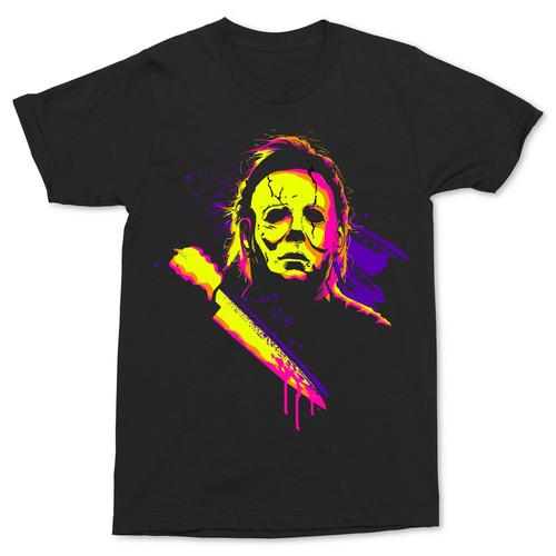 Halloween Mike Neon T-Shirt
