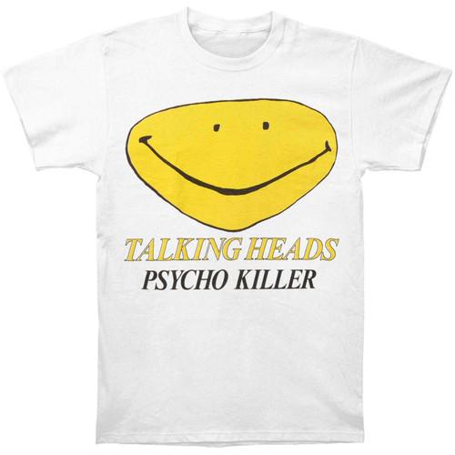Talking Heads Psycho Killer Slim-Fit T-Shirt White