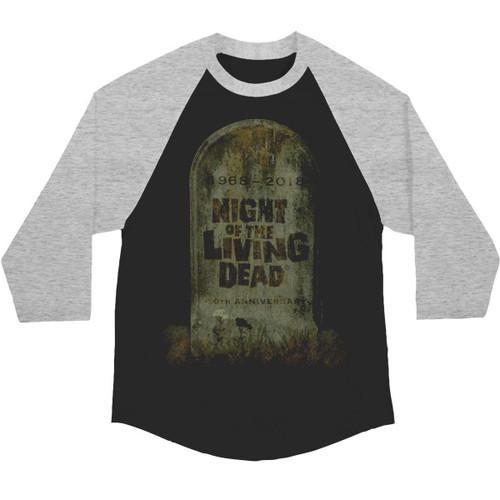 Night of The Living Dead 50th Anniversary Ltd. Ed. Raglan T-Shirt