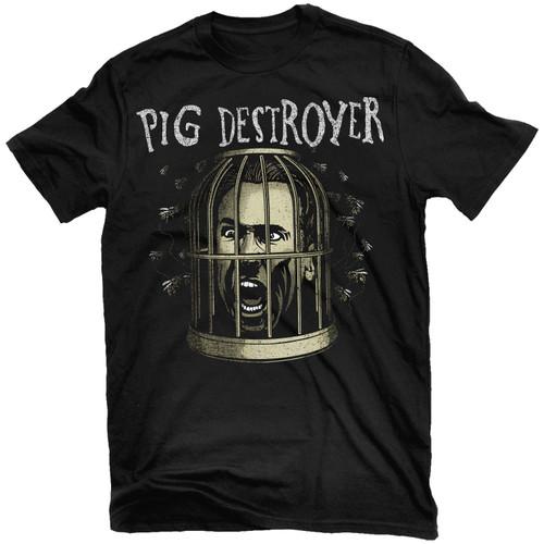 Pig Destroyer Cage Head T-Shirt