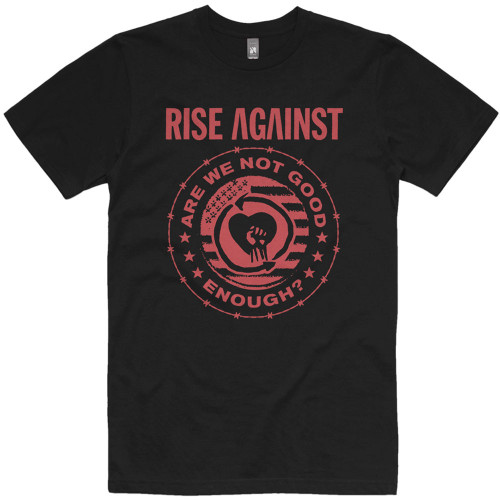 Rise Against Good Enough Slim-Fit T-Shirt