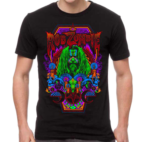Rob Zombie Necro Color T-Shirt