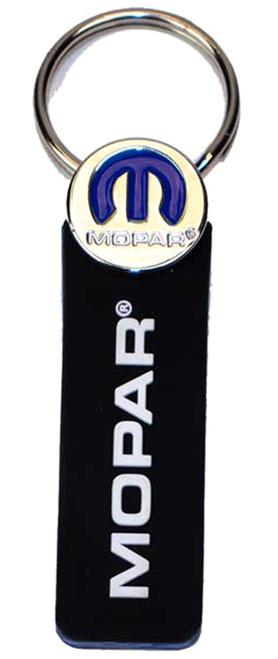 Mopar Rubber Logo Key Chain