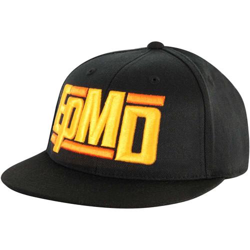 EPMD Logo Snapback Hat Black
