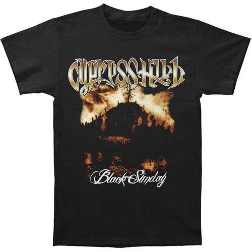Cypress Hill Black Sunday Album Cover Slim-Fit T-Shirt