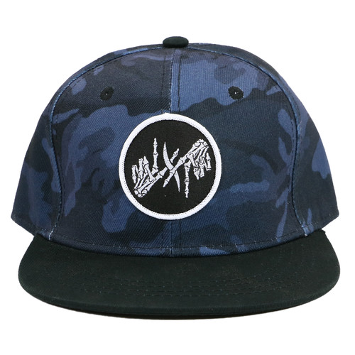 I Prevail Patch Night Camo Snapback Hat