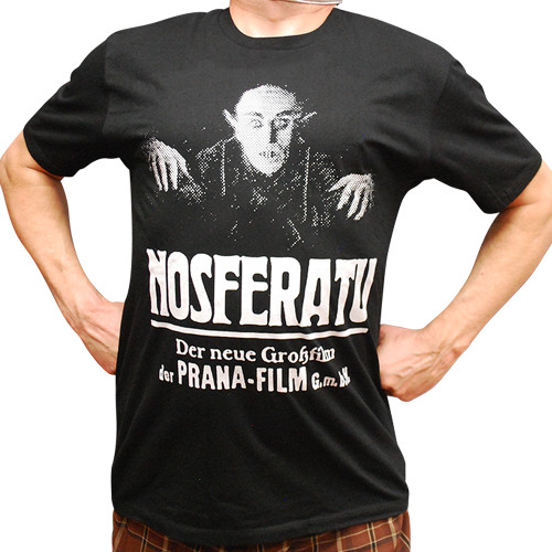 Nosferatu II Classic Poster Slim-Fit T-Shirt
